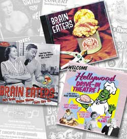Brain Eaters: discographie