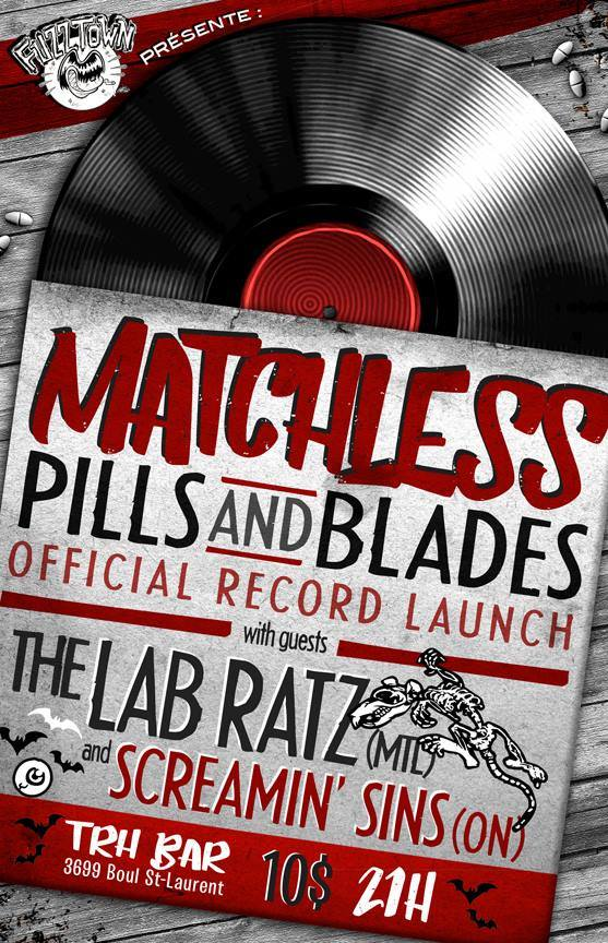 Pills and Blades record launch